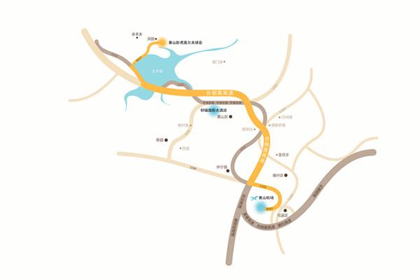 京福高铁建成后,从上海到黄山只需两个半小时